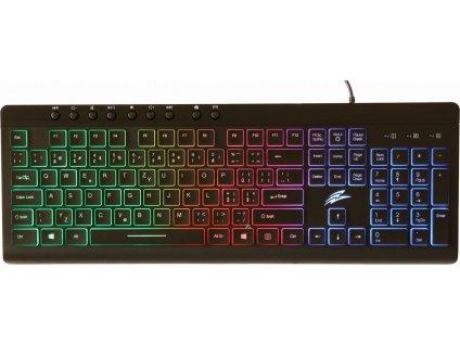 EVOLVEO GK640, herní klávesnice s duhovým podsvětlením, USB