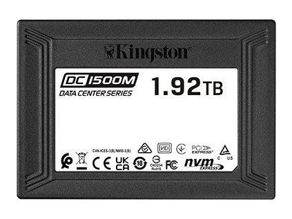 Kingston U.2 NVMe Enterprise 1920GB SSD DC1500M
