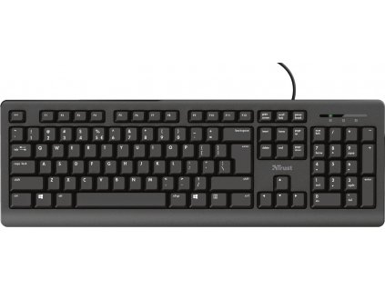 TRUST klávesnice PRIMO, membránová, USB, CZ/SK