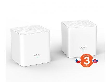 Tenda MW3 (2-pack) WiFi Mesh systém AC Dual-Band