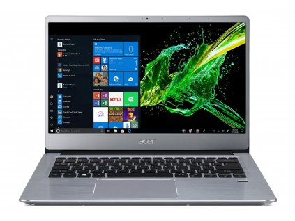 "Acer Swift 3 - 14""/R5-3500U/4G+8G/512SSD/R540X/W10 stříbrný"