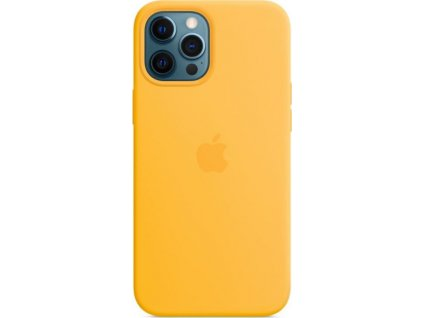 iPhone 12ProMax Silicone Case w MagSafe Sunflower
