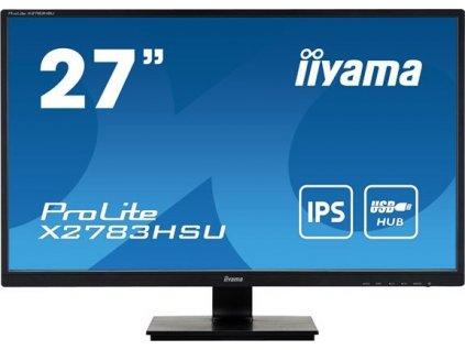 IIYAMA X2783HSU-B6 27inch IPS FHD 300cd/m2 4ms D-Sub HDMI DP USB2.0x2