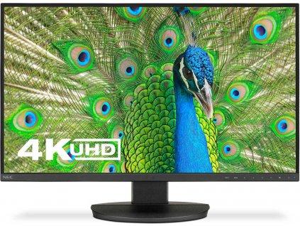 NEC 60004302 Monitor NEC EA271U 27inch, IPS, 4K UHD, DVI/HDMI/DP/USB, black