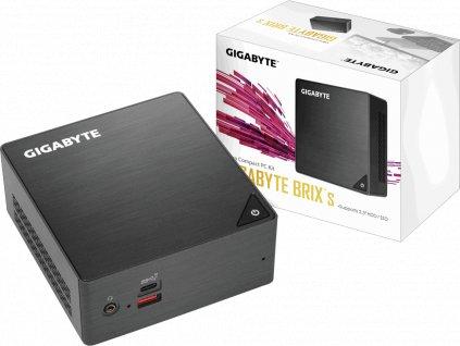 GIGABYTE BRIX GB-BRi7H-8550, Intel i7-8550U, 2xSODIMM DDR4, VGA
