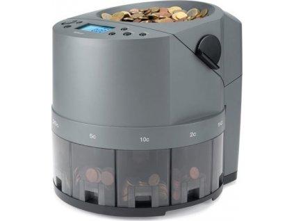 Třídička a počítačka EUR mincí Safescan 1450