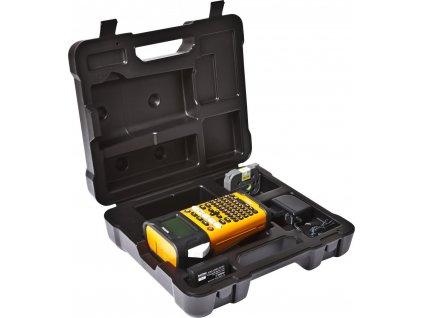 BROTHER tiskárna štítků PT-E300VP - 18mm, pásky TZe, mobilní, s kufrem, Tiskárna Štítků pro průmysl a elekt - popisovač