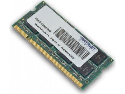 PATRIOT DDR2 SL 2GB 800MHZ SODIMM 1x2GB