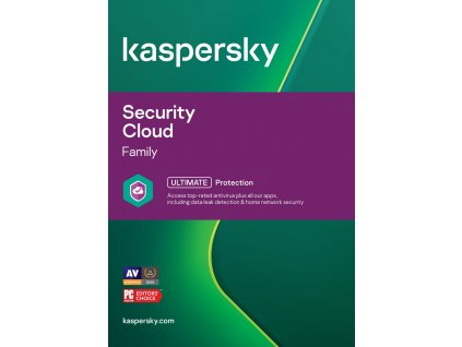 ESD Kaspersky Security Cloud Family 10x 1 rok Nová