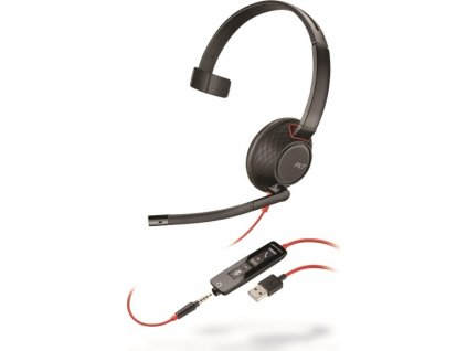 Plantronics Blackwire C5210, Mono, USB/Jack, MS