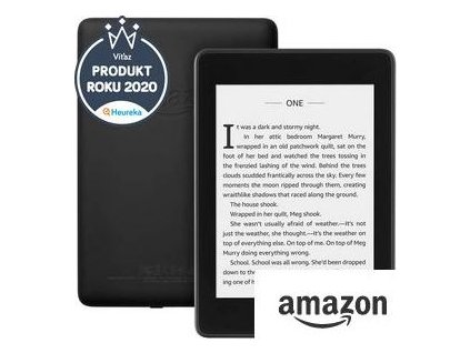 "E-book Amazon Kindle Paperwhite 4 2018, 6"" 8GB E-ink displej, WIFi, Black, SPONZOROVANÁ VERZE"