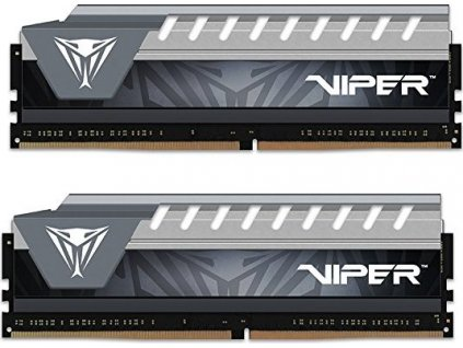 PATRIOT PVE416G266C6KGY Patriot Viper ELITE DDR4 16GB KIT ( 2x8GB) 2666MHz CL16-17-17-36 šedá