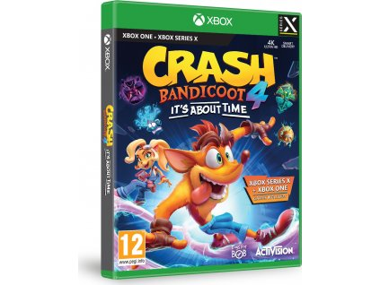ACTIVISION Crash Bandicoot 4 Its about time XBOX ONE