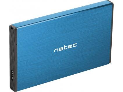 NATEC NKZ-1280 Natec external enclosure RHINO GO for 2,5 SATA, USB 3.0, Blue
