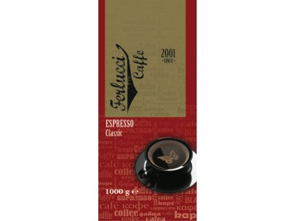 Káva Classic 60% a/ 40% r 1 kg Ferlucci