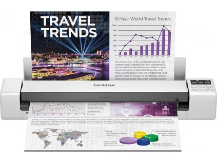 BROTHER DS940DWTK1 Portable document scanner Wi-Fi