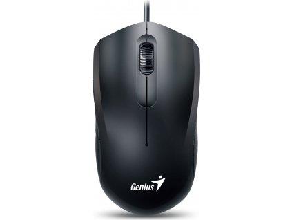 GENIUS myš DX-170, drátová, 1600 dpi, USB, černá