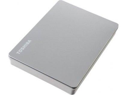 """TOSHIBA HDD CANVIO FLEX 2TB, 2,5"""", USB 3.2 Gen 1, stříbrná / silver"""