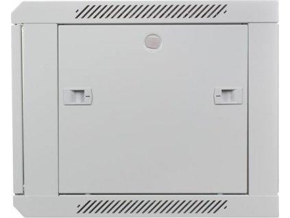 "Digitus 19"" Rack, 6U/450mm, sklenené dvere, šedý"