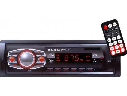 BLOW AVH-8626 FM, BT, MP3, USB, SD, diaľkový ovládač, 78-279#
