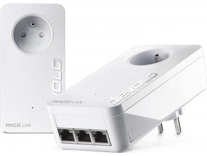 devolo Magic 2 LAN triple Starter Kit 2400mbps