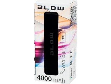 BLOW PB11 Pwerbanka 4000mAh 1xUSB, čierna