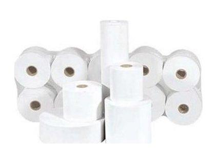 Papír šířky 76mm, délka návinu 44m, dutinka 12mm (průměr návinu do 60mm)