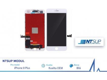 NTSUP LCD modul iPhone 8 PLUS bílý kvalita B