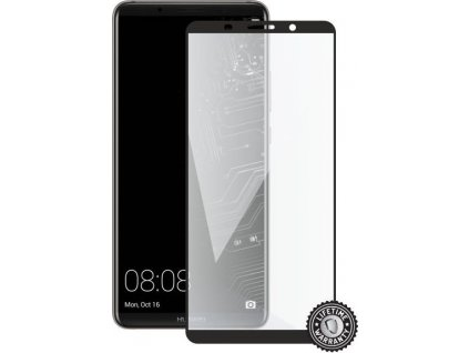 Screenshield HUAWEI Mate 10 Pro Tempered Glass protection (full COVER black)