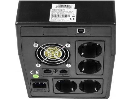 GREENCELL UPS Power Proof 1500VA 900W