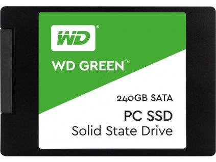"WD GREEN SSD 3D NAND WDS240G2G0A 240GB SATA/600, (R:500, W:400MB/s), 2.5"""