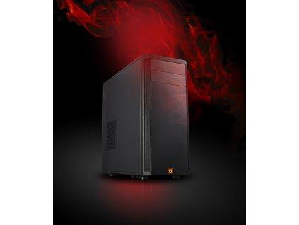 X-DIABLO Gamer R5 1660 (R5 3600/16GB/SSD 1000NVMe/GTX1660 6GB/W10/Wifi)