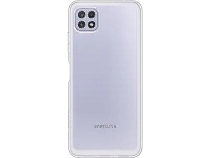 Samsung Poloprůhledný zadní kryt A22 LTE Transparent