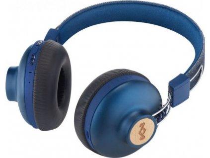 MARLEY Positive Vibration 2.0 Bluetooth - Denim, bezdrátová sluchátka přes hlavu