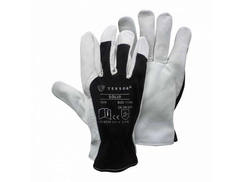 Rękawice Tekson Solid (1)