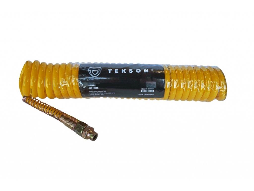 Spirálová hadice žlutá