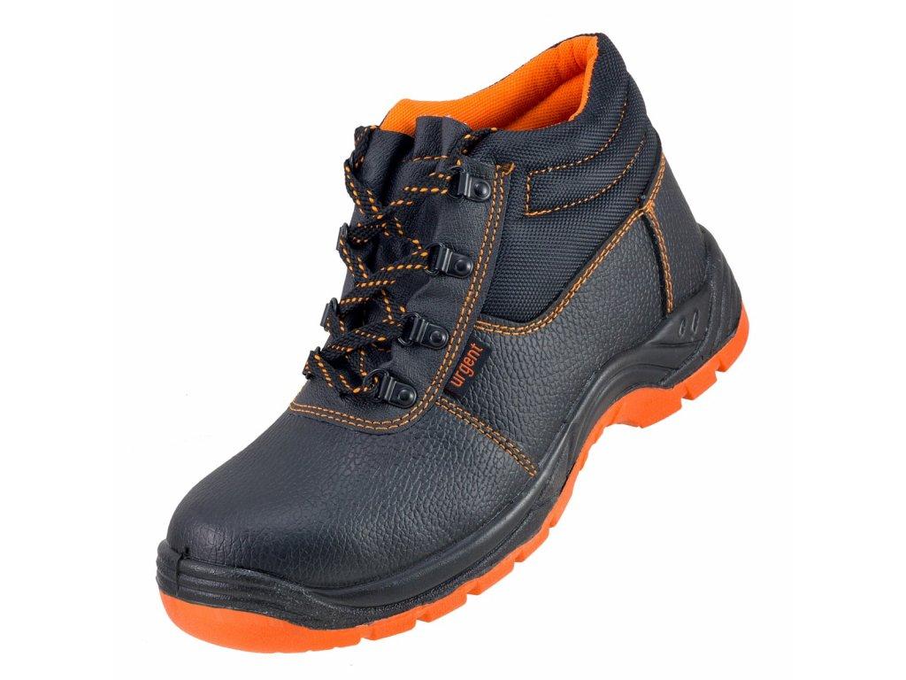 Bezpečnostní a pracovní kotníkové boty Urgent 101S1