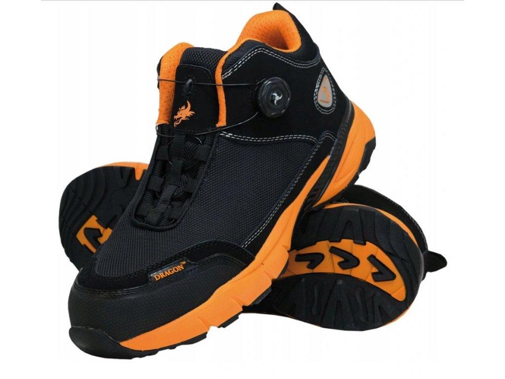 Bezpečnostní a pracovní boty BRBOOSTER T BP