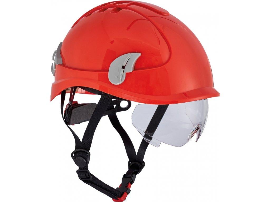 Alpineworker přilba červená