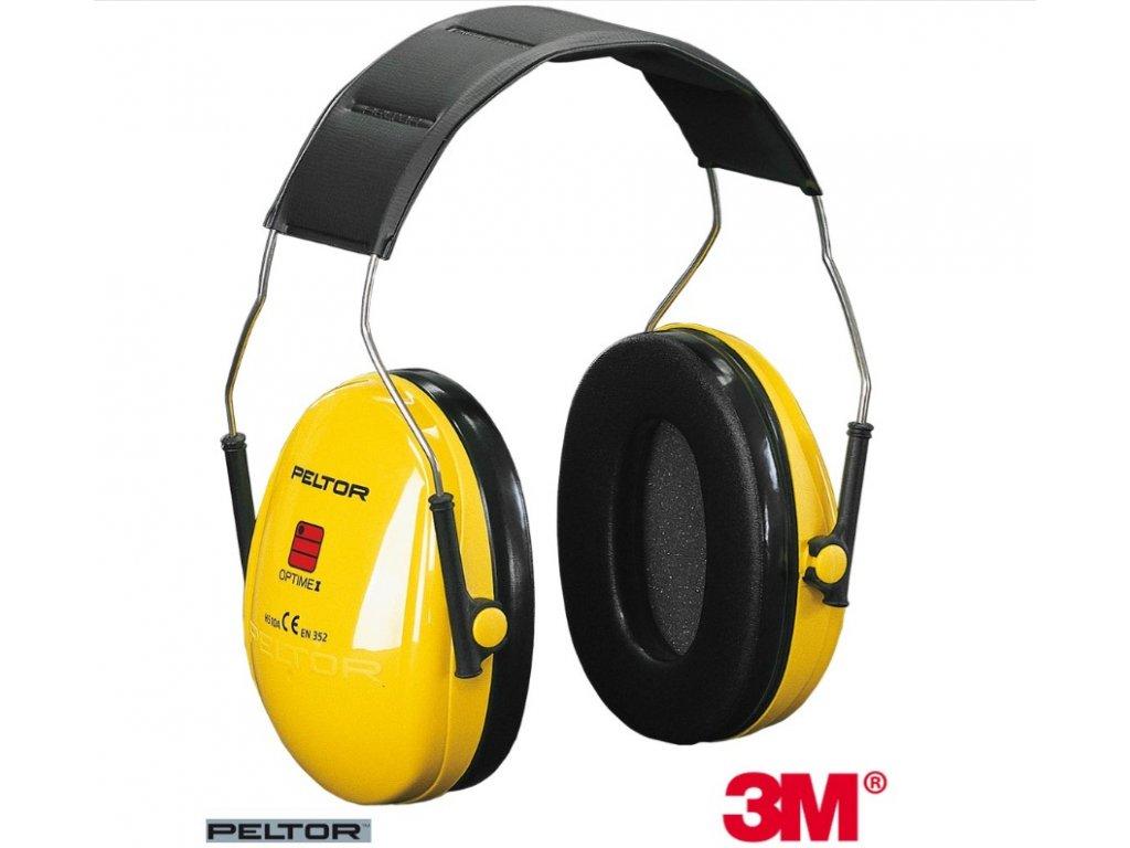 Mušlový chránič sluchu 3M Peltor OPTIME