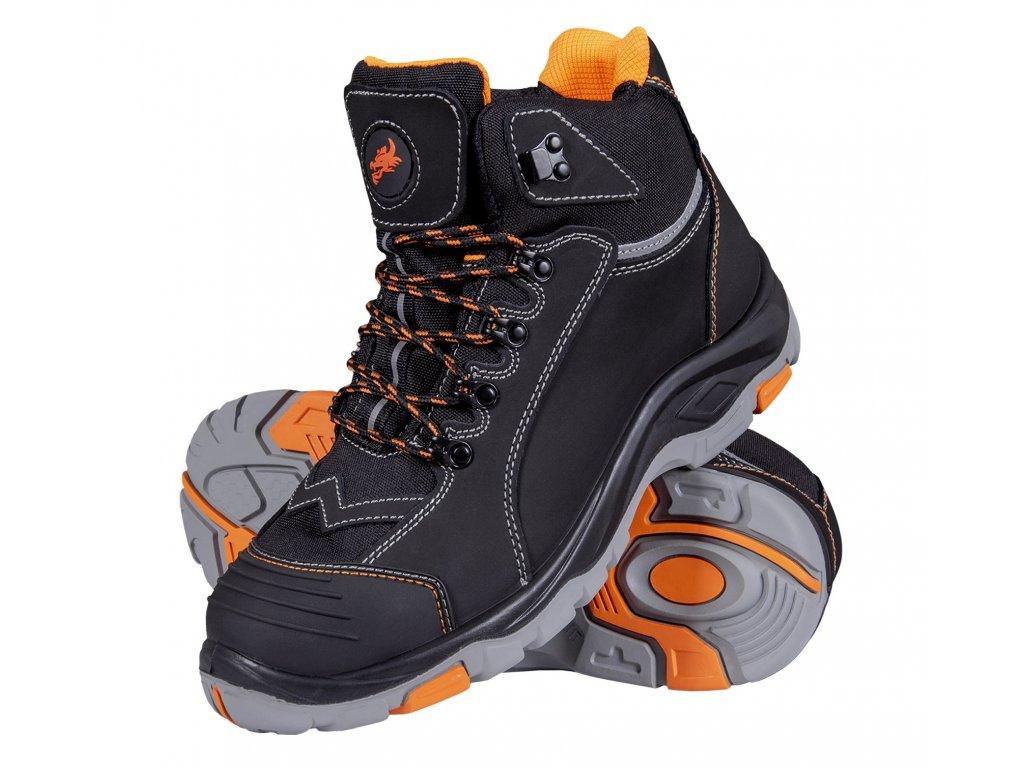 bezpečnostní boty s ocelovou špičkou