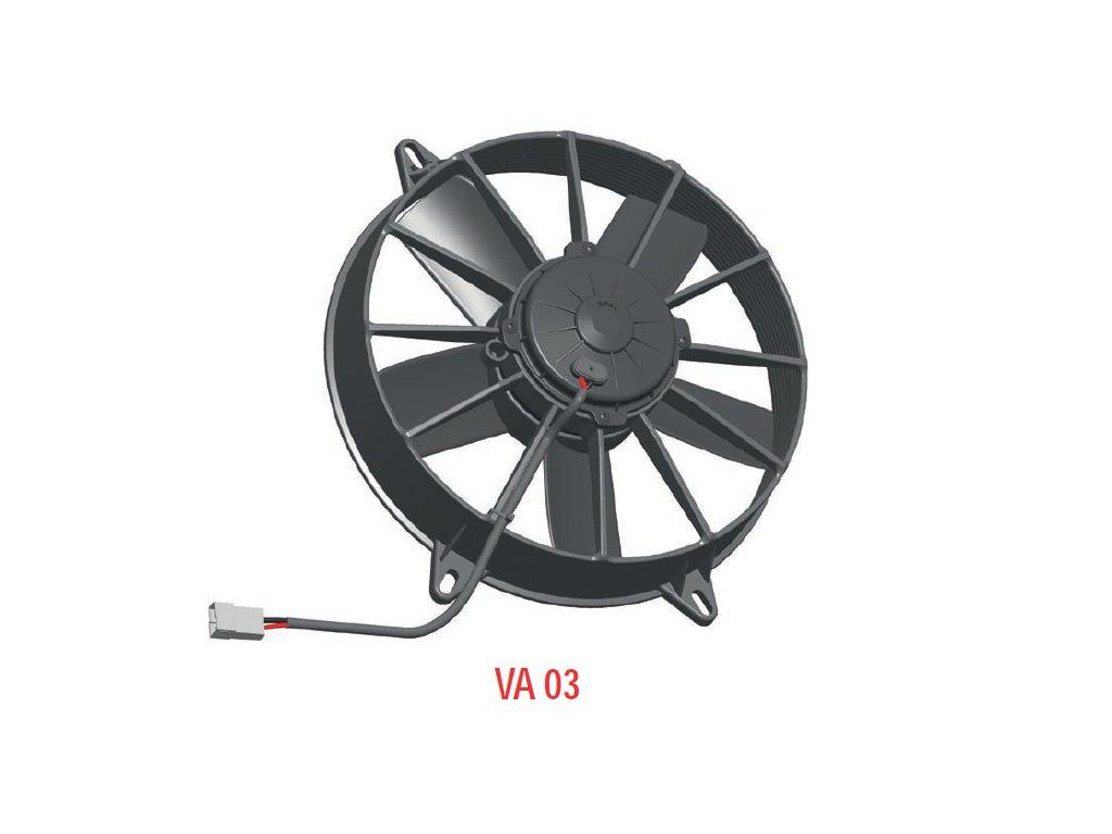 Ventilátor SPAL VA03-AP70/LL-37A (280 mm)