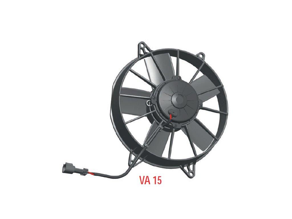 Ventilátor SPAL 12V VA15-AP70/LL-39A (255 mm)