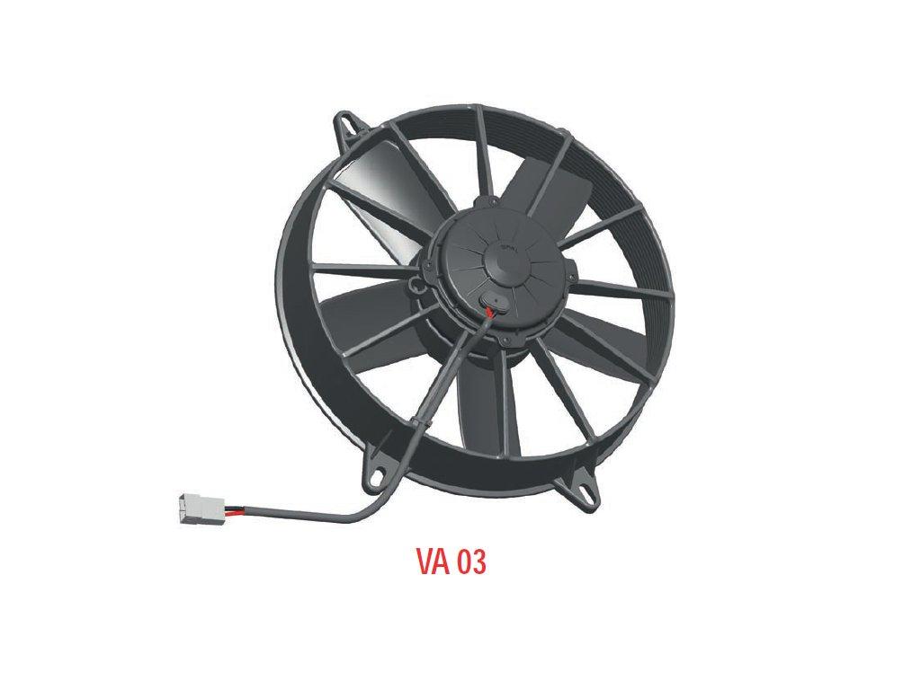 Ventilátor SPAL 12V VA03-AP70/LL-37S (280 mm)