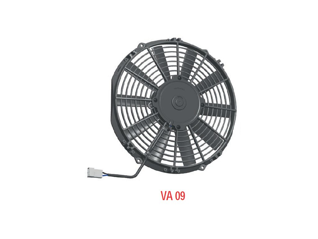 Ventilátor SPAL 12V VA09-AP50/C-27S (280mm)