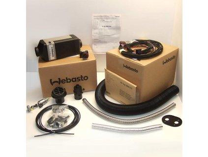 Webasto AirTop 2000STC Diesel 24V ovladač zástavbová sada