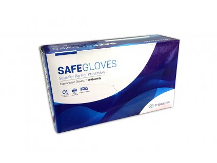 Safe gloves theracom rękawice nitrylowe