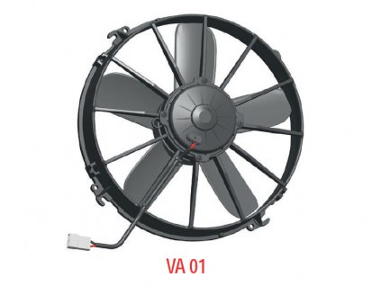 Ventilátor SPAL 12V VA01-AP90/LL-66A
