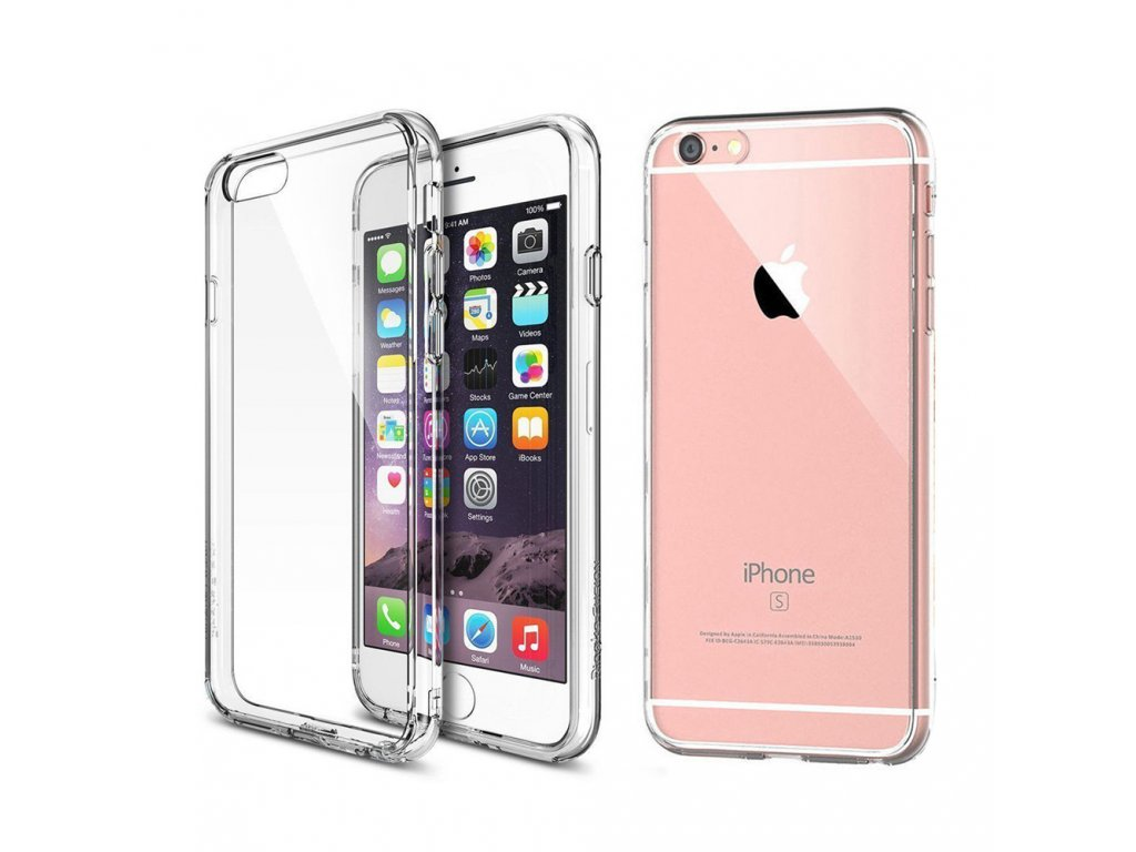 silikonový kryt na iPhone 6 / 6S ultra thin