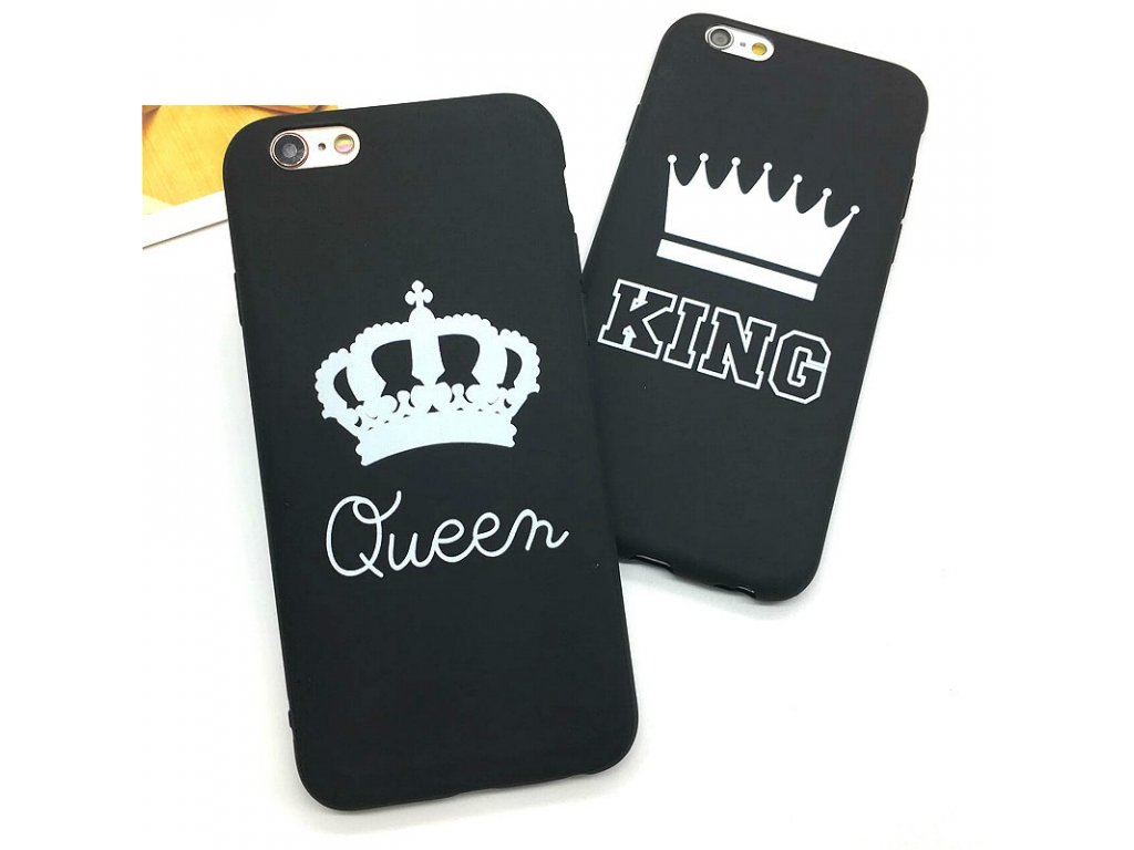 Kryt King & Queen na iPhone 6 / 6S